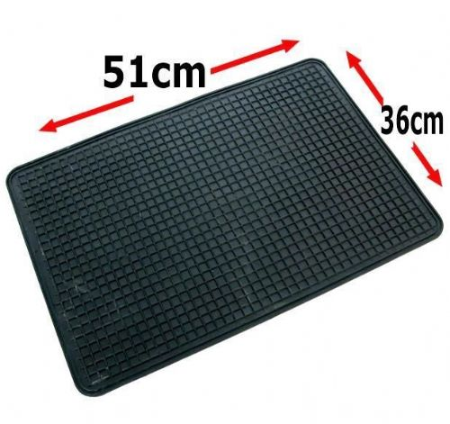 Single Rubber Car Mat  51 x 36 cm
